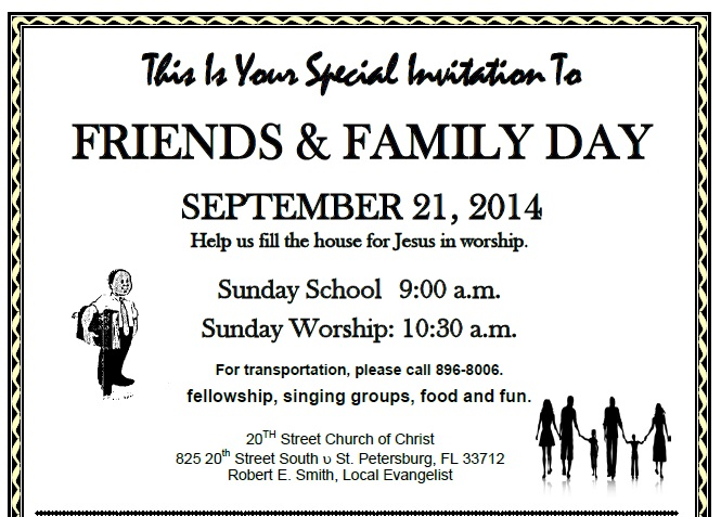 Friends & Family @ Friends & Family Day   St. Petersburg   Florida   United States